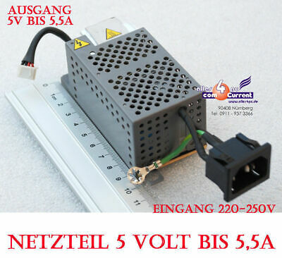 5V 5 Volt 5A Power Supply Adapter Also For Continuous Operation 25WATT 25W #N48 • 20.62£