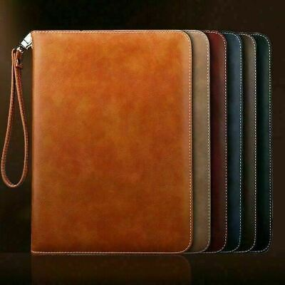 Genuine Luxury Leather Smart Case Cover For IPad 9.7 10.2 10.5 11 12.9 Pro 2020 • 11.99£