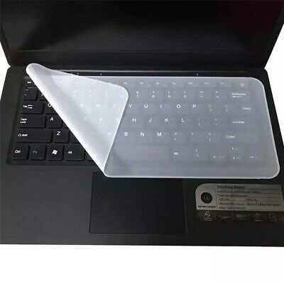 Silicone Cover Universal Keyboard Protector Skin For Laptops Notebooks 31*13cm • 2.99£