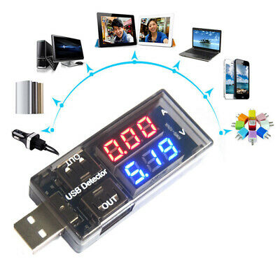 1x USB Volt Current Voltage Doctor Charger Capacity Tester Meter Power Bank • 7.64£