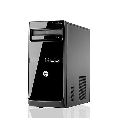 HP PRO DUAL CORE I3 QUAD CORE I5 FAST CHEAP WiFi WINDOWS 10 PC DESKTOP COMPUTER • 154.99£