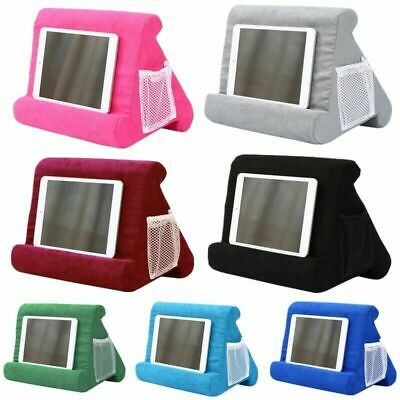2020 Multi-Angle Soft Pillow Lap Stand For IPad Tablet EReaders Magazine Holder • 9.99£