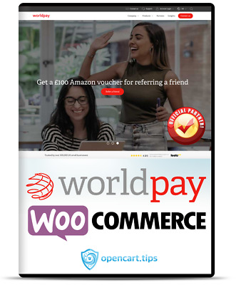 Worldpay Business Gateway WooCommerce - Official Partner!!! • 99£