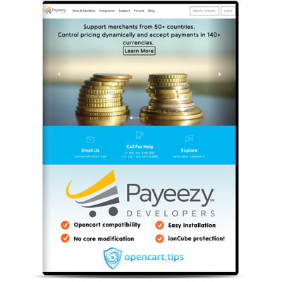 Payeezy Hosted Page First Data OpenCart • 99£
