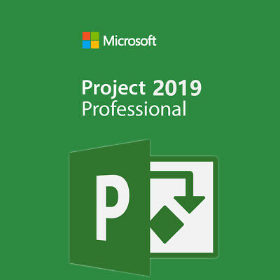 Ms Project  2019 Professional Genuine Product Key + Download Link For 1 Pc • 2.95£