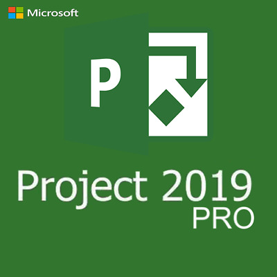 Ms Project 2019 Pro Professional - 1 Pc License Key & Download Link 5 Mins • 3.45£