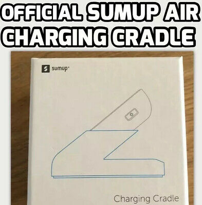 OFFICIAL SumUp AIR Charging Cradle/Stand/Holder/Charger Card Reader BRAND NEW • 24.99£