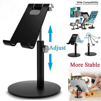 Universal Adjust Tablet Stand Holder Desk For IPad Mobile Phone Samsung IPhone • 12.98£