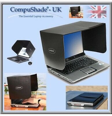 Compushade Laptop Shade Screen Hood Visor Anti Glare • 35.99£