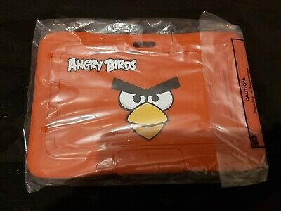 Angry Birds Protective Skin Bumper And Travel Bag Accessory Pack Red For 7  Inch • 16£