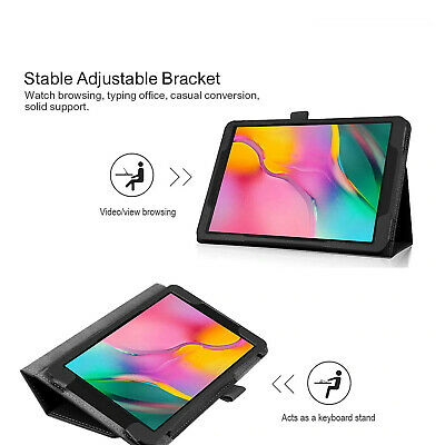 Smart Case For Samsung Galaxy Tab A 10.1  2019 T510/15 Stand Flip Magnetic Cover • 4.97£