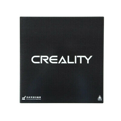 Creality Black Glass Heated Bed Surface For CR-10S5 MK2 MK3 510x510mm UK Stock  • 59.99£