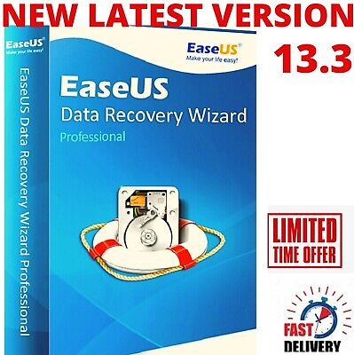 EaseUS Data Recovery Wizard V13.3 / Professional Lifetime License Instant  • 6.99£