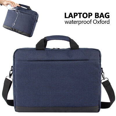 15.6inch Laptop PC Shoulder Bag Carrying Soft Notebook Case Sleeve Cover W/Strap • 11.99£