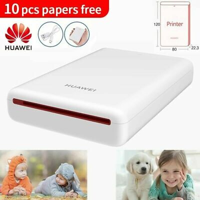 Huawei Portable Pocket Instant Mobile Photo Printer Bluetooth Support DIY I5Y7 • 15.99£