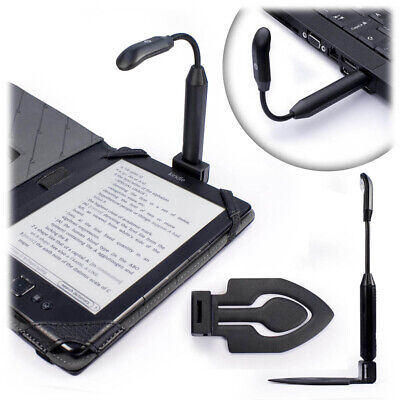Bright Spark Clip-On Led Reading Light(USB Rechargeable All Purpose Travel Light • 11.49£