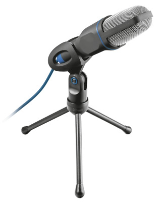 Trust Mico USB Microphone And Stand For PC And Laptop, USB Connected - 20378 • 19.99£
