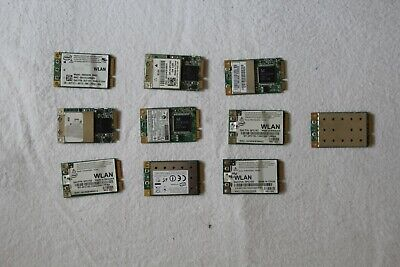 *** Job Lot Of 10 Used Laptop Wifi Cards *** • 7.99£