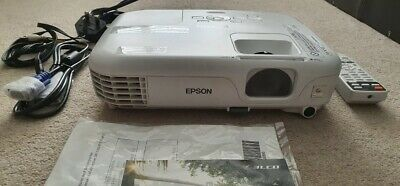Epson 3LCD Projector Model: EB S02H Pre-Owned Fully Working With His Bag • 60£
