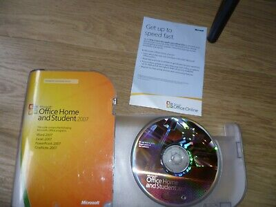Microsoft Office Home And Student 2007 With Product Key  • 9.97£