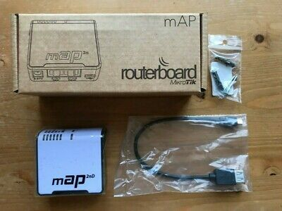 Mikrotik MAP Routerboard RBmAP2nD Access Point (UK ADAPTER INCLUDED) • 25£