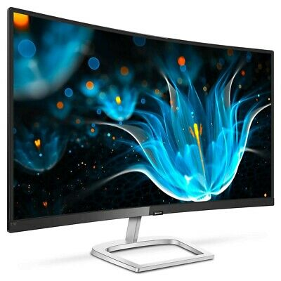 Philips  278E9QJAB/00 Black Silver 27  Curved LCD Monitor With Ultra Wide Colour • 133£