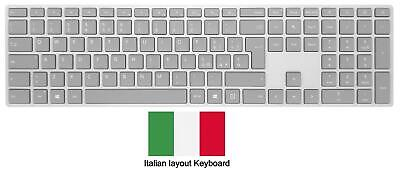 Microsoft Surface Keyboard Bluetooth - Italian - Gray - WS2-00010 • 19.99£