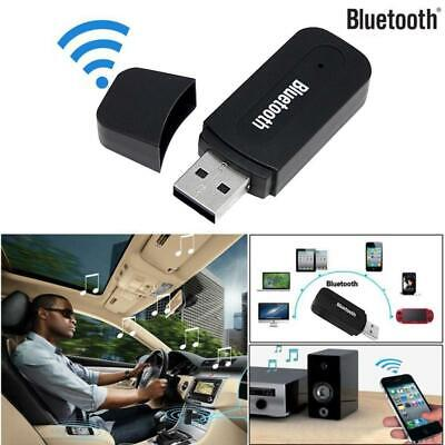 For Car Laptop 3.5mm To USB Bluetooth Receiver AUX Audio BT Music Adapter System • 3.20£