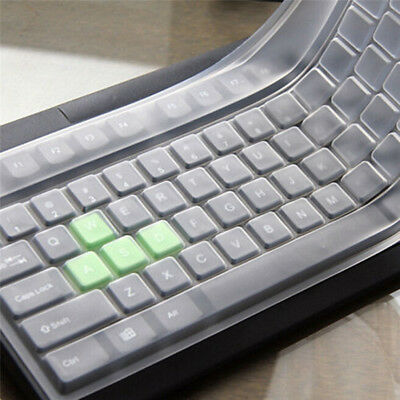 2pcs Desktop Computer Keyboard Cover Silicone Keyboard Creative Protector S2Z • 4.99£