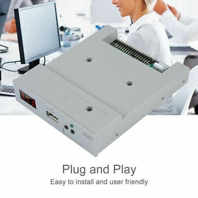 1.44 MB Roland 3.5 Inch Floppy Disk Drive To USB Converter Adapter Emulator • 18.12£
