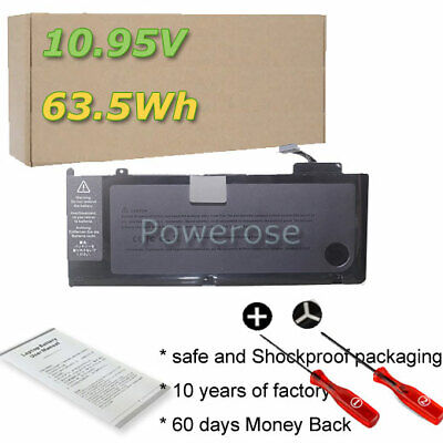 Battery For MacBook Pro 13 Inch Mid 2009 2010 2012 Early 2010 Late 2011 A1278 • 20.46£