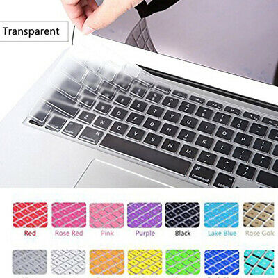 11''-17'' Silicone Keyboard Skin Cover Film For Apple Macbook Pro Protect Case # • 5.59£