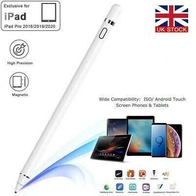 Pencil Pen For Apple IPad 6th/7th/Mini 5th Gen/Pro 11&12.9/Air 3rd Gen Stylus • 12.79£