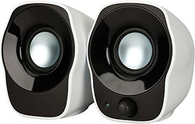 Logitech Z120 Compact PC Stereo Speakers, 3.5mm Audio Input, USB Powered, Cable • 19.96£