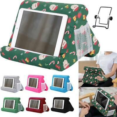 Tablet Stand Pillow Holder Book Reader Rest Lap Reading Cushion For IPad Phone • 8.99£