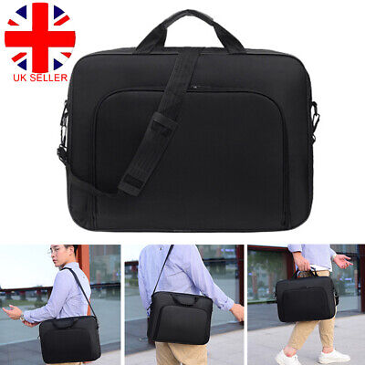 15.6 Inch Laptop PC Waterproof Shoulder Bag Carrying Soft Notebook Case Cover W • 8.68£