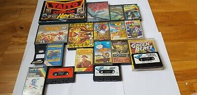 Zx Spectrum Games Job Lot, Includes 28 Action Games Used • 15£