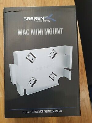 SABRENT Mac Mini Mount Wall Bracket For MAC Mini • 14.99£