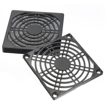 Dustproof 80mm Case Fan Dust Filter Guard Grill Protector Cover PC Computer;CC • 3.08£