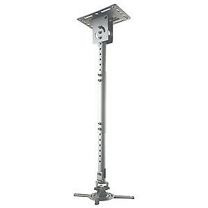 NEW! Newstar Universal Projector Ceiling Mount Height Adjustable 58-83Cm Silver • 106.55£