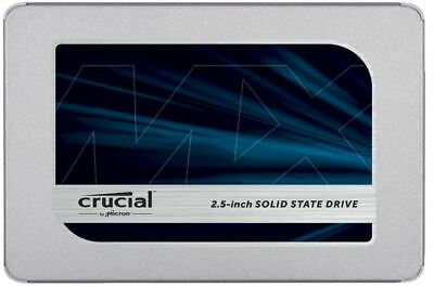 Crucial MX500 1 TB Up To 560 MB/s (3D NAND, SATA, 2.5 Inch, Internal SSD)  • 79£