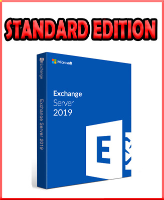 Exchange Server 2019 Standard Version Unlimited CALs // Official Product Key • 28£