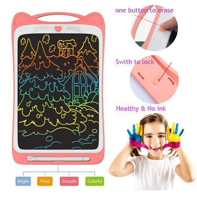 12'' Electronic Digital LCD Writing Tablet Drawing Board Graphics For Kids Gift • 15.89£