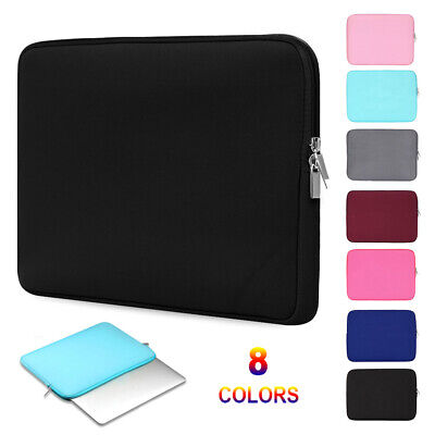 11.6 /13.3/15.6 Inch Soft Laptop Sleeve Case Carrying Bag Notebook Cover Pouch • 7.37£