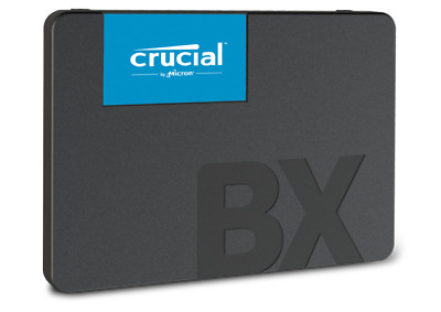 Genuine Crucial BX500 120GB 2.5 Inch SSD Brand New Boxed With 3 Year Warranty,  • 21.99£