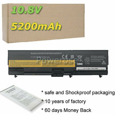Battery For Lenovo ThinkPad T430 W530 L530 L430 T520 W520 T420 45N1005 42T4702 • 19.98£
