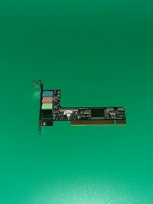 VINTAGE Generic  PCI-e Sound Card - Tested & Operational • 12£