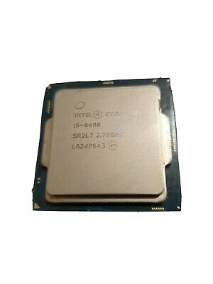 Intel ® Core™ I5-6400 6400 - 2.7GHz Quad-Core CPU 6th Gen. Socket 1151 Processor • 22.80£