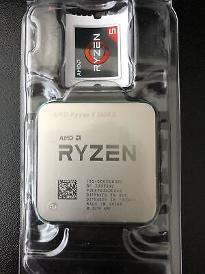 AMD Ryzen 5 3600X Gen3 6 Core AM4 CPU/Processor With Wraith Spire Cooler • 200£