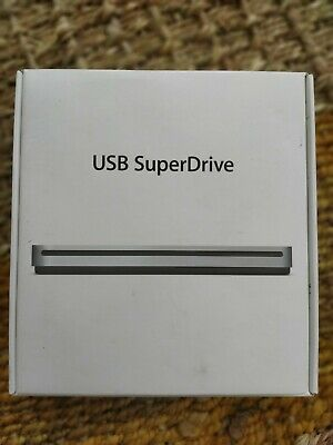 Apple USB SuperDrive DVD Re-Writer - Silver (MD564ZM/A) • 16.10£
